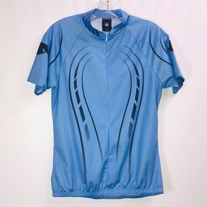 Descent Cycling Blue & Navy Top